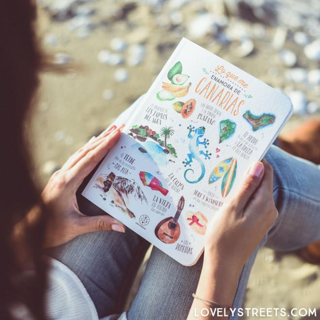 Notebook Lovely Streets - Lo que me enamora de Canarias