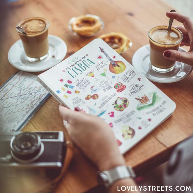 Notebook Lovely Streets - O que me apaixona em Lisboa (PT)