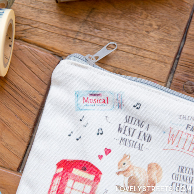 Lovely Streets wristlet - Things that made me fall in love with London