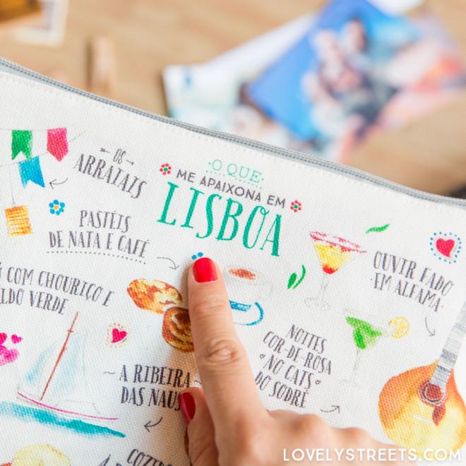 Lovely Streets wristlet - O que me apaixona em Lisboa (PT)