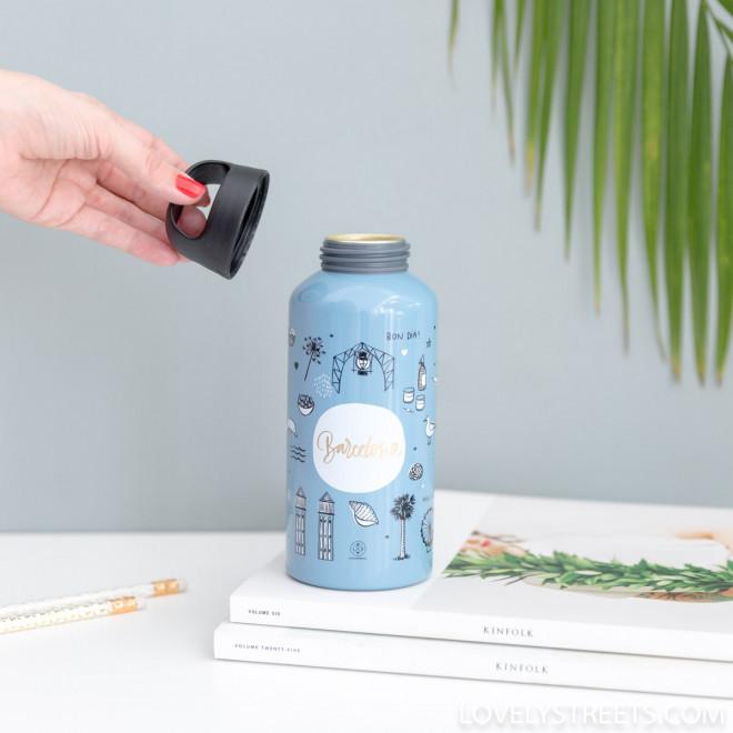 Botella agua reutilizable