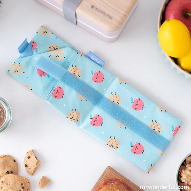 Sandwich roll bag Roll Eat x Mr. Wonderful - Apple