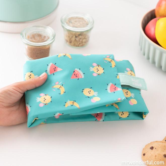 Sandwich roll bag Roll Eat x Mr. Wonderful - Fruits