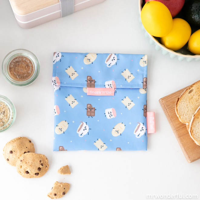 Snack bag Roll Eat x Mr. Wonderful - Chocolate