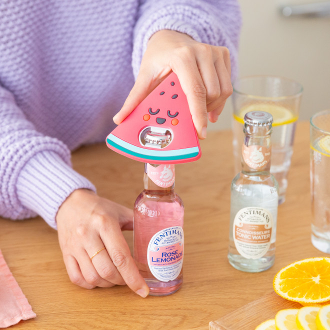 Bottle opener Mr. Wonderful x Balvi - Watermelon