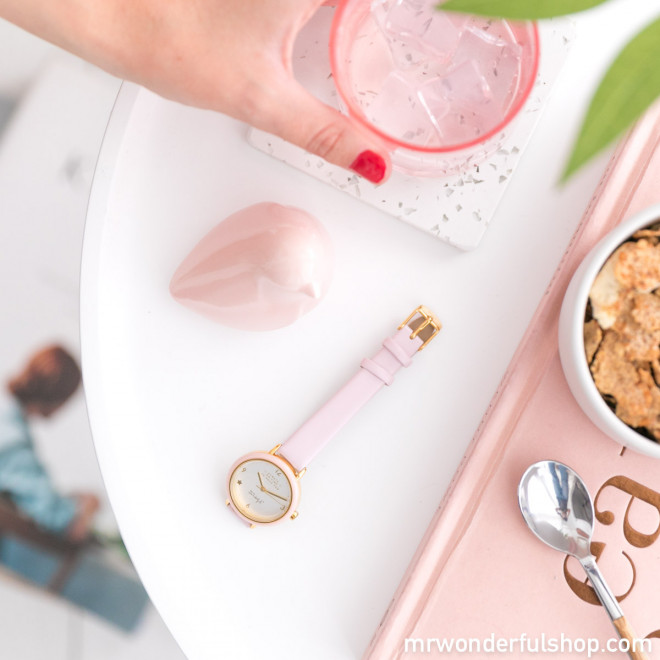 Watch Wonderful Time - IPG & pink