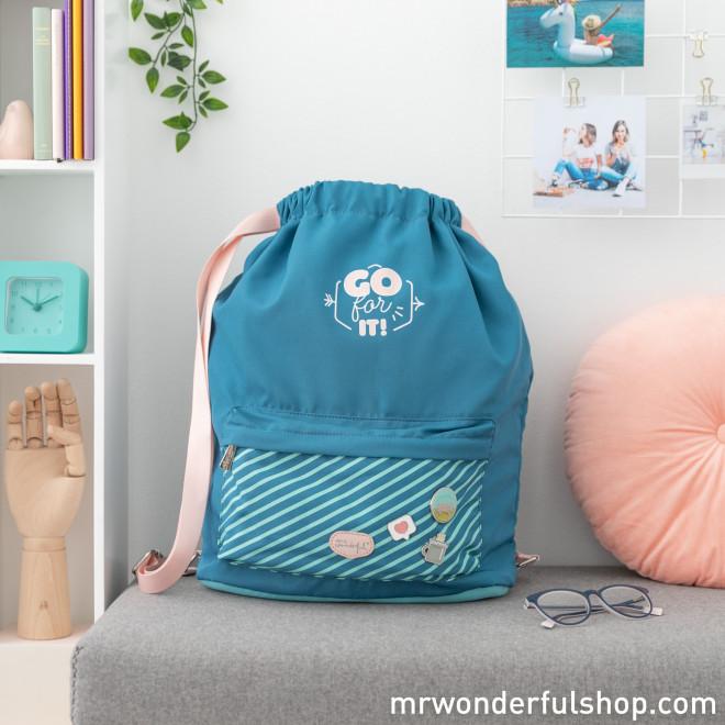 Sack bag - Go for it!Mochila saco - Go for it!