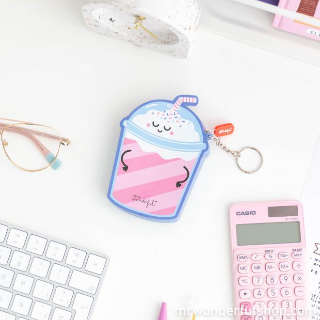 Milkshake-shaped purse