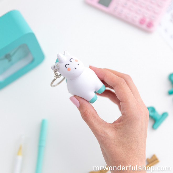 Squishy keyring - Unicorn