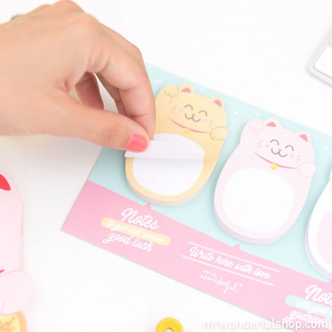 Sticky notes Maneki-neko - Lucky Collection