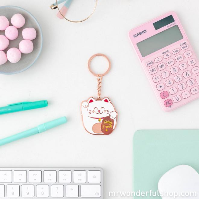 Keyring Maneki-neko - Lucky Collection