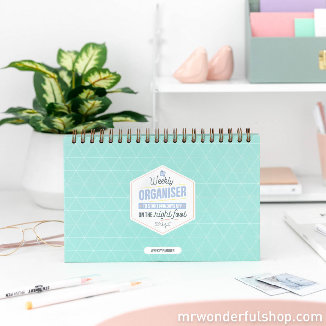 Planner to straighten out your week - Let's get to it!