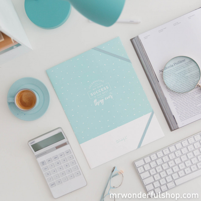 Set of 2 above-and-beyond adorable and practical folders