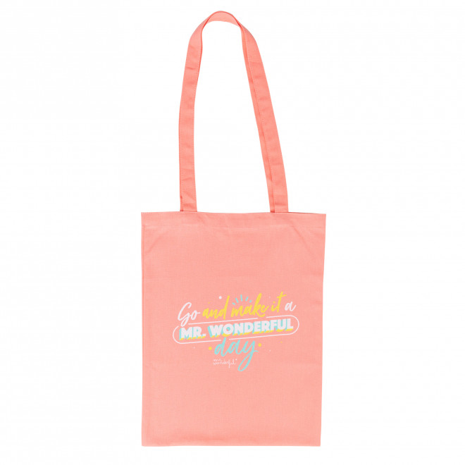Free tote bag - Go and make it a Mr. Wonderful day