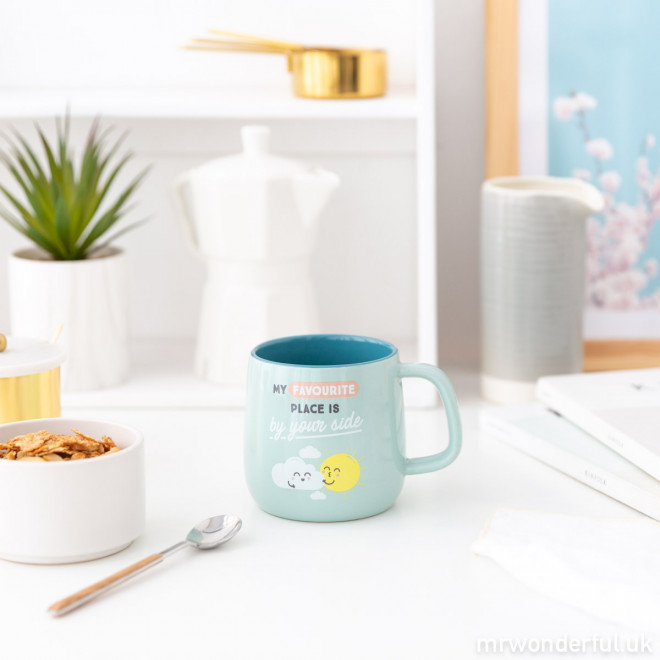 Mug - My favourite place is by your side