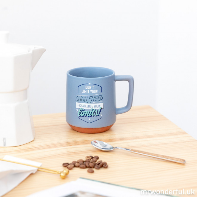 Mug - Don't limit your challenges, challenge your limits!