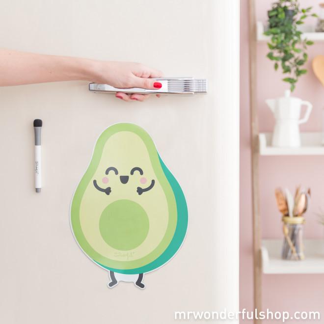 Magnetic whiteboard - Avocado
