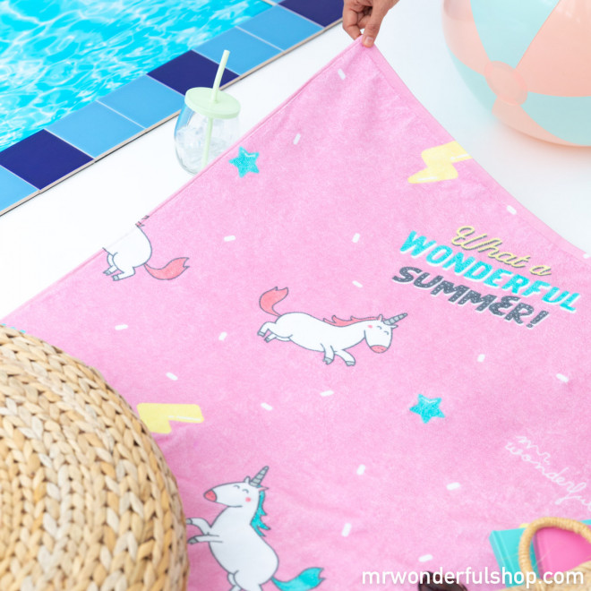 Beach towel - Wonderful summer