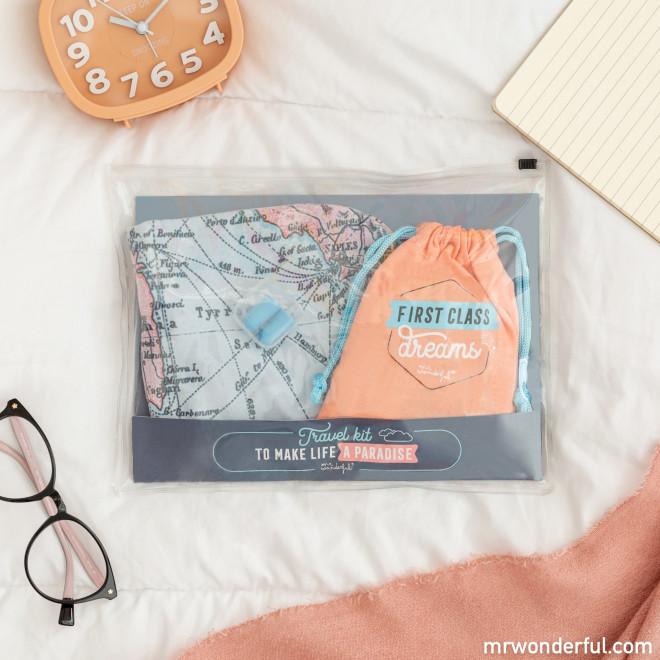 Travel kit to make life a paradise