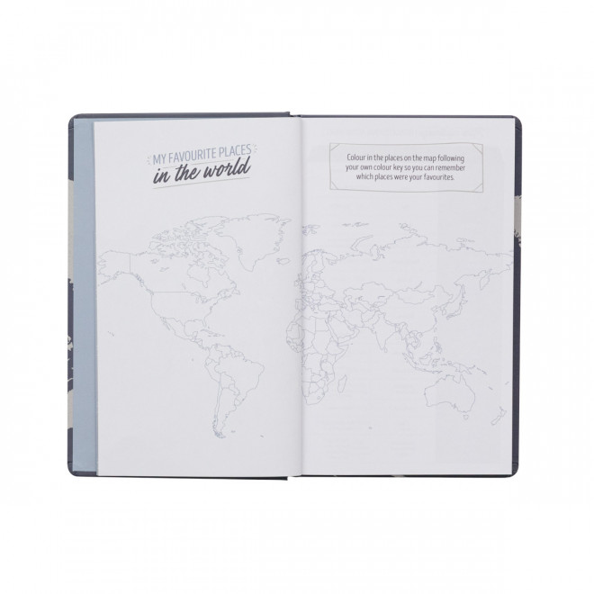 Travel journal - Happiness is planning the next trip