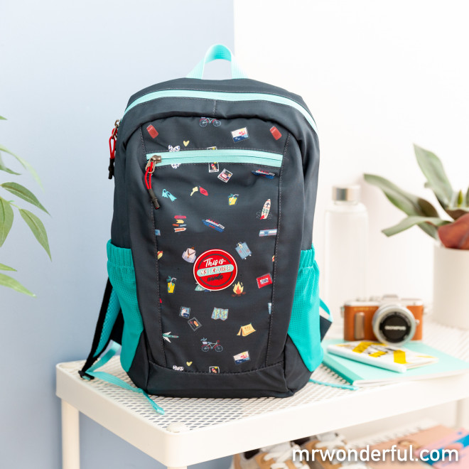 Foldable backpack - This is my explorer mode