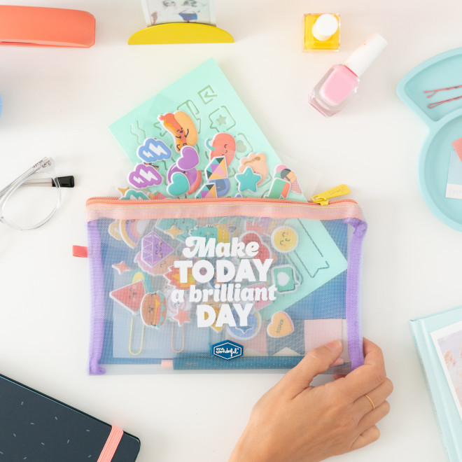 Kit to decorate your diary - Make today a brilliant day