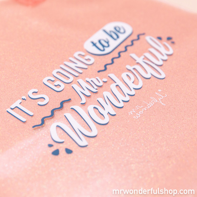 Tote bag - It's going to be Mr. Wonderful