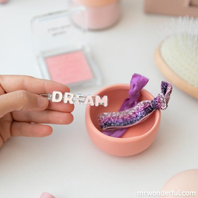Kit de scrunchie unicornios + clip de pelo Dream + coleteros Beter