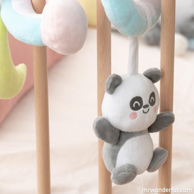 Rattles spiral Mr. Wonderful x Saro - Panda Hugs