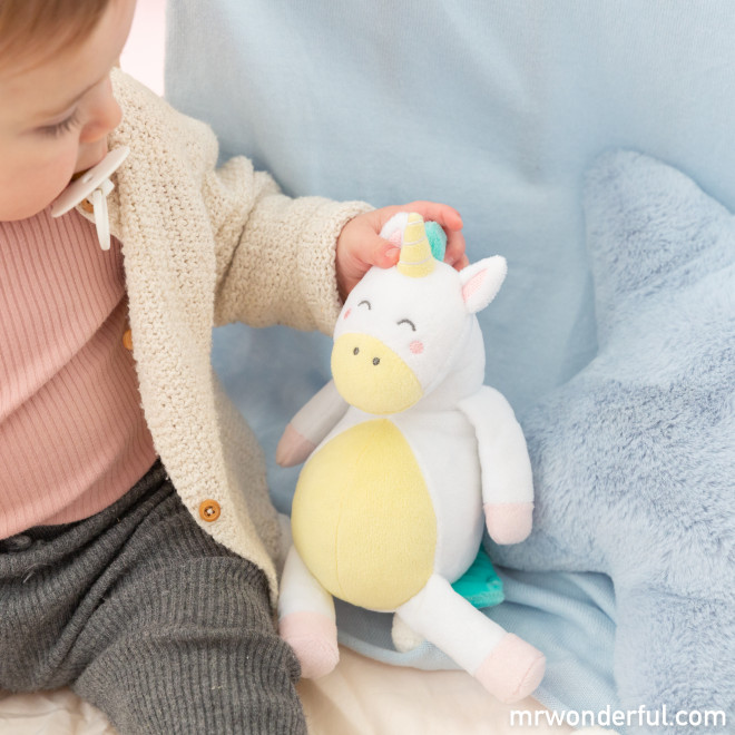 Soft Toy Saro Baby by Mr. Wonderful - Unicorn