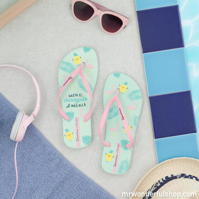 Ipanema flip-flops - Flamingo Vibes