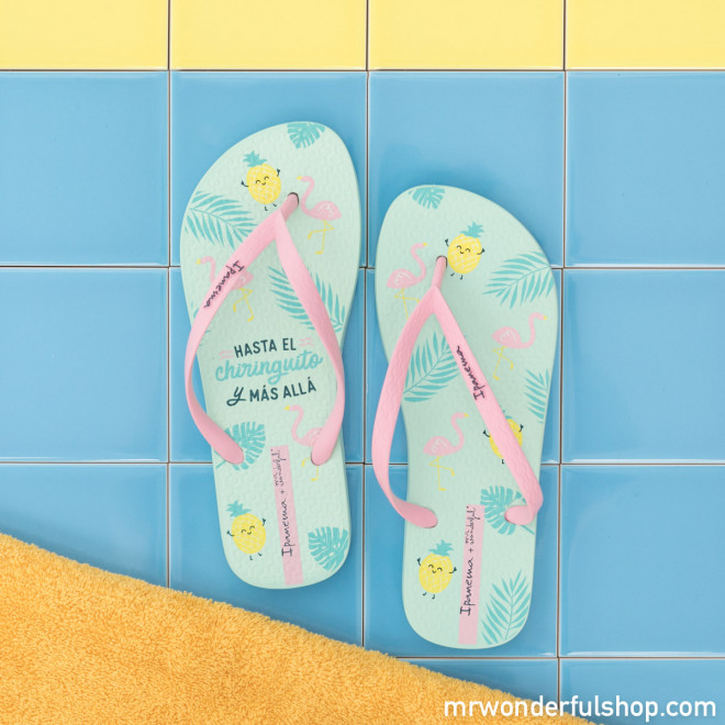 09e3ea278 Ipanema flip-flops - Flamingo Vibes - Mr. Wonderful