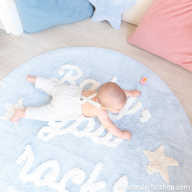 Lorena Canals Washable Rug - Baby, you rock!