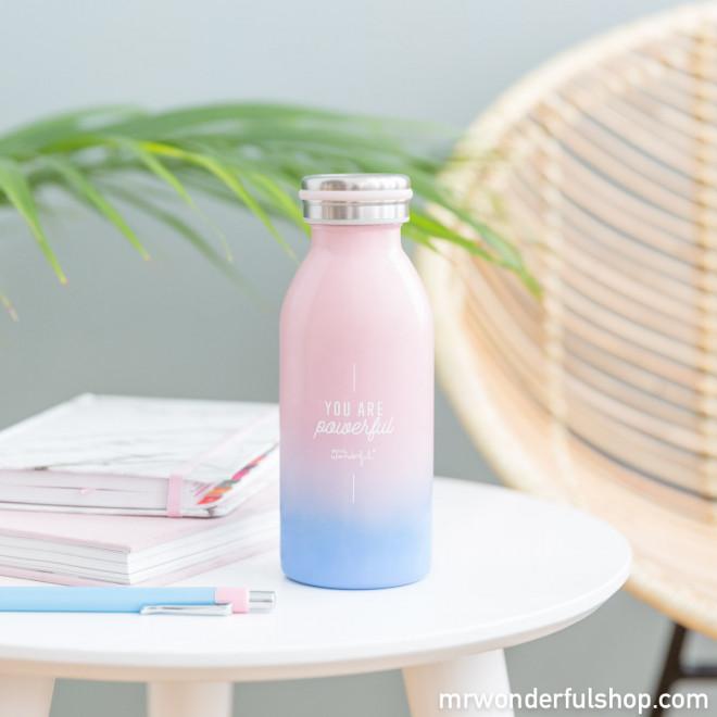 Botella de acero Sunrise Collection