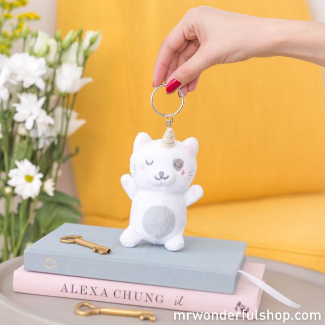 Plush key-ring - Catcorn