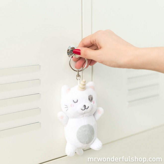 Plush key-ring - Catcorn