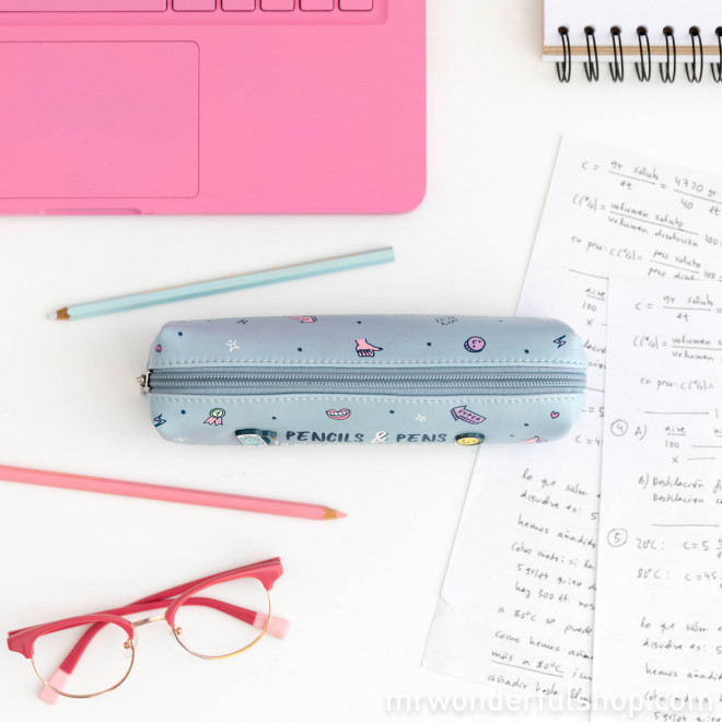 Pencil case - Pencils & pens to give your Wi-Fi a break