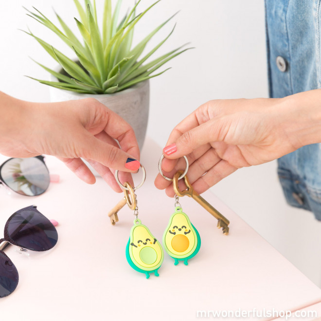 Set of 2 key-rings for friends who fit perfectly