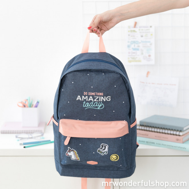 Backpack - Do something amazing today