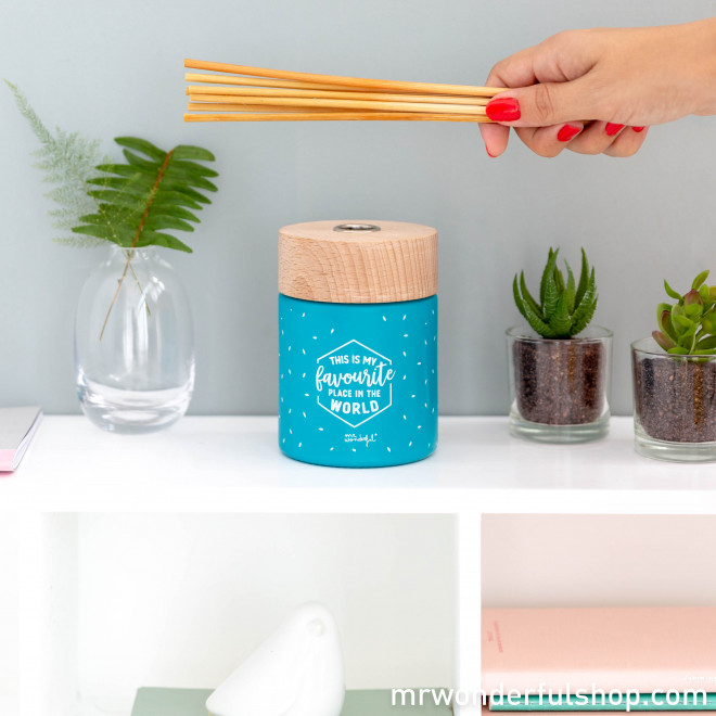Mikado air freshener - This is my favourite place in the world (ENG)