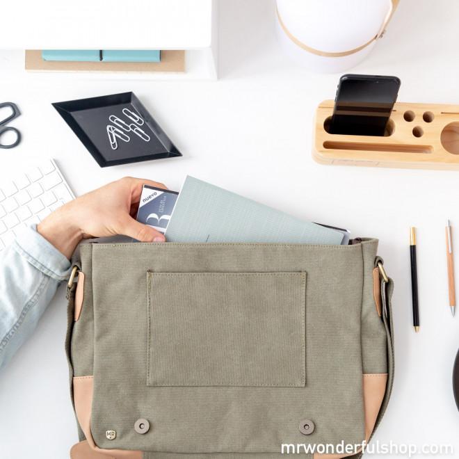 Green shoulder bag - Make it work