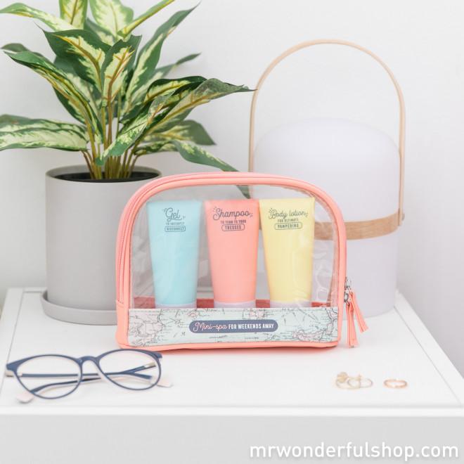 56b3f51aafd5 Travel Kit - Mini-spa for weekends away
