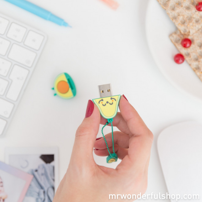 USB memory stick 16GB - Avocado