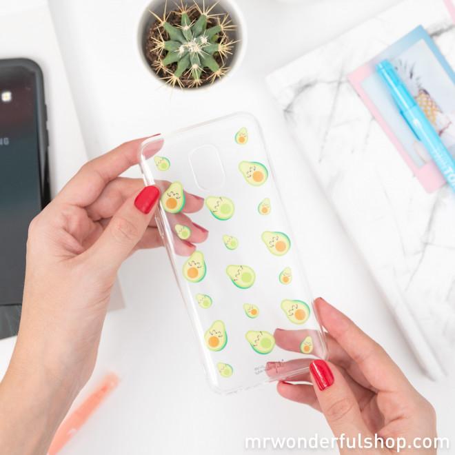 Samsung J6 case - Avocados