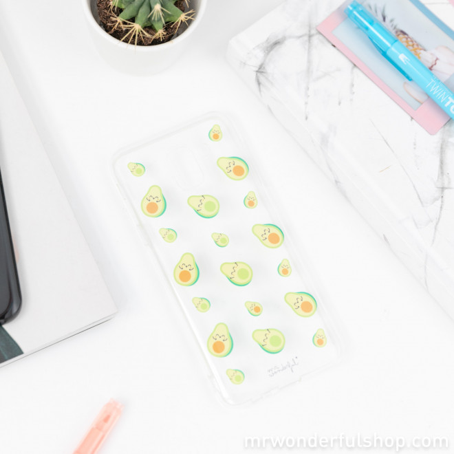Samsung A8 case - Avocados