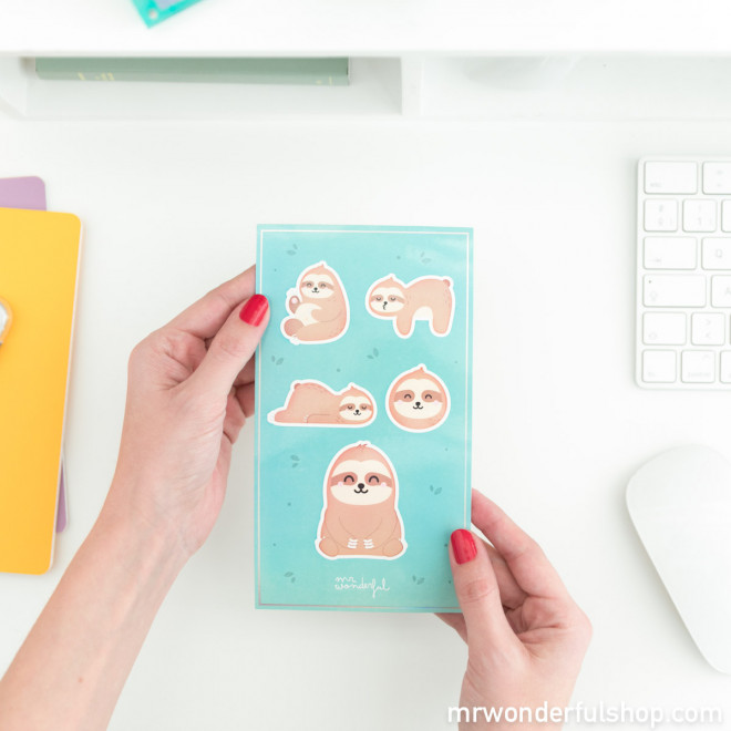 iPhone 6/7/8 case Sloth - Slow Collection