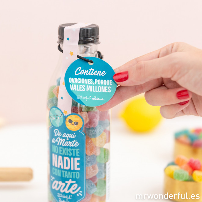 Bote de golosinas Mr. Wonderful