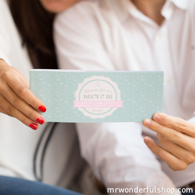 Love vouchers - Because you are worth it all (ENG)