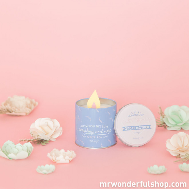 Candle - Little moments of calm and relaxation for a great mother (ENG)
