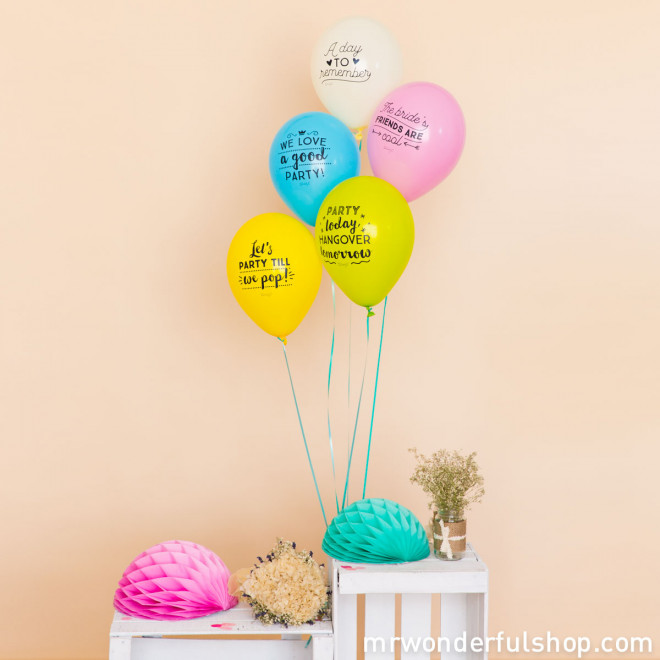 Balloons for epic hen parties (ENG)